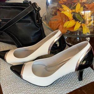 Predictions, Comfort plus white and black shoe